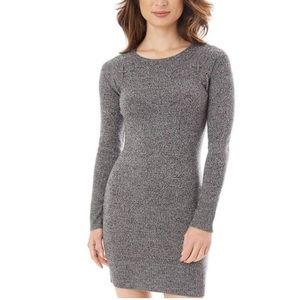 Heather Grey Cage Sweater Dress
